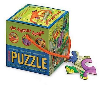 Animal Boogie Mini Cube Puzzle