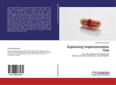 Explaining Implementation Gap