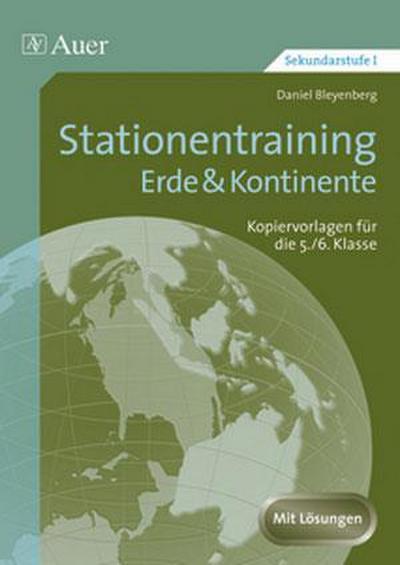 Stationentraining Erde & Kontinente