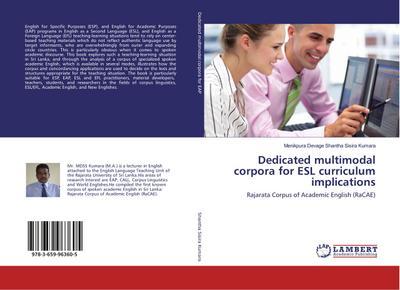 Dedicated multimodal corpora for ESL curriculum implications