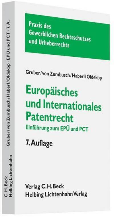 Europäisches und internationales Patentrecht