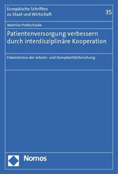 Patientenversorgung verbessern durch interdisziplinäre Kooperation