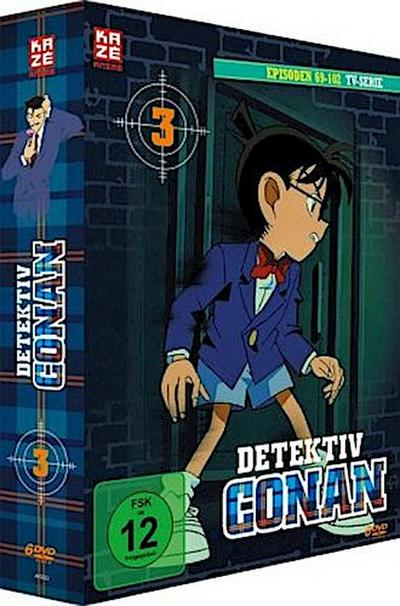 Detektiv Conan - die TV-Serie. Box.3, 3 DVD