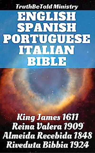 English Spanish Portuguese Italian Bible