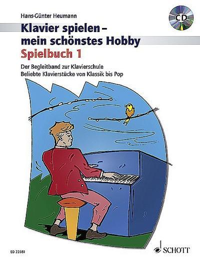 Spielbuch 1. Klavier. Lehrbuch mit CD