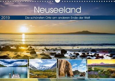 Neuseeland - Die schönsten Orte am anderen Ende der Welt (Wandkalender 2019 DIN A3 quer)