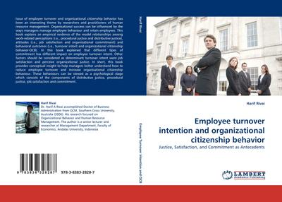 Employee turnover intention and organizational citizenship behavior