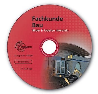 Fachkunde Bau Bilder & Tabellen interaktiv, CD-ROM