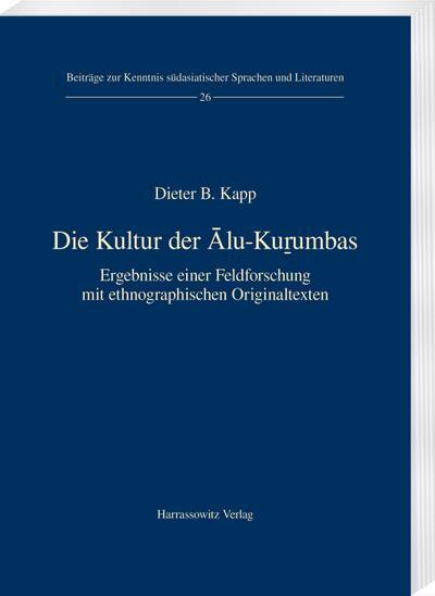 Die Kultur der Alu-Ku¿umbas