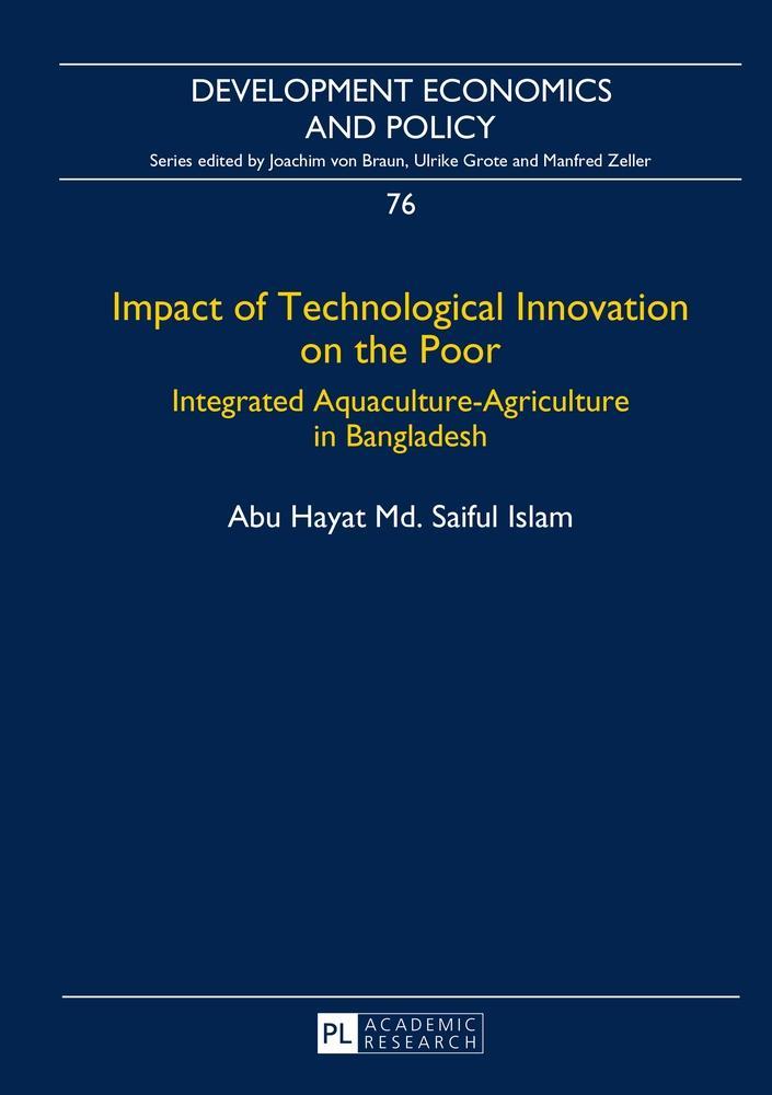 Impact of Technological Innovation on the Poor, Abu Hayat Md. Saiful Islam