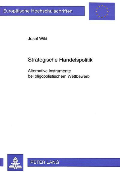 Strategische Handelspolitik
