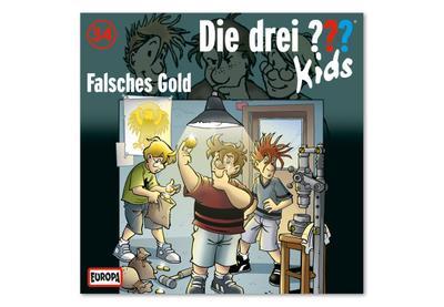 Die Drei ??? Kids 034: Falsches Gold