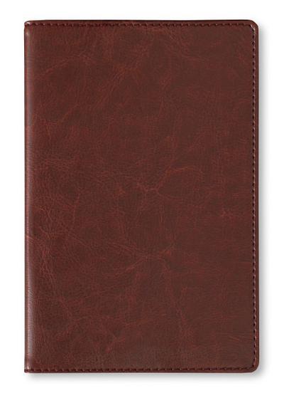Adressbuch Glamour Brown - Notizbuch / Taschenplaner braun (11 x 17) - 112 Seiten