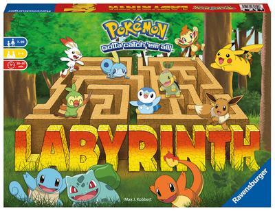 Ravensburger 26949 - Pokémon Labyrinth - Familienspiel für 2-4 Spieler ab 7 Jahren