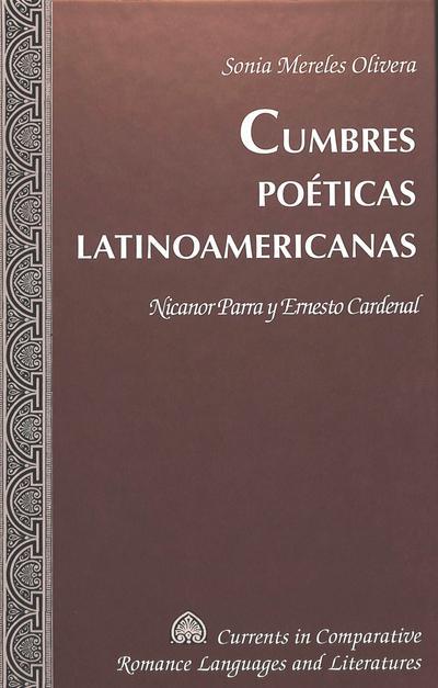 Cumbres poéticas latinoamericanas