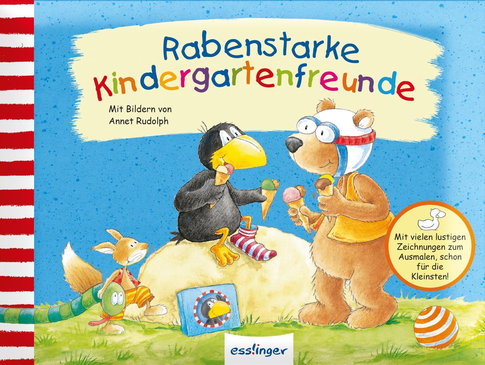 Annet Rudolph ~ Rabenstarke Kindergartenfreunde. Mein kleiner  ... 9783480231539
