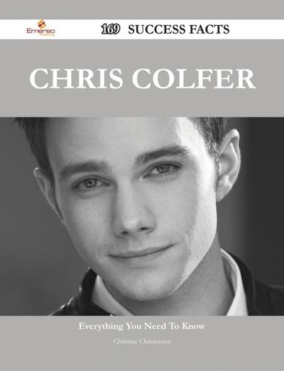 Chris Colfer 169 Success Facts - Everything you need to know about Chris Colfer