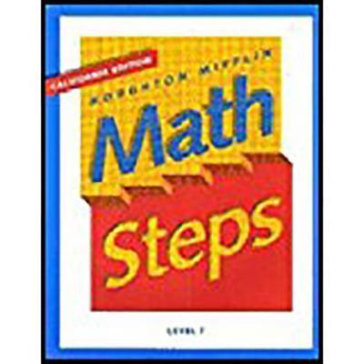 Houghton Mifflin Math Steps: Student Edition Level 7 2000