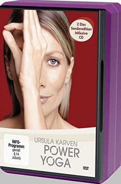 Power Yoga DVD + Yoga Block Ursula Karven Sonderedition mit Yoga Block