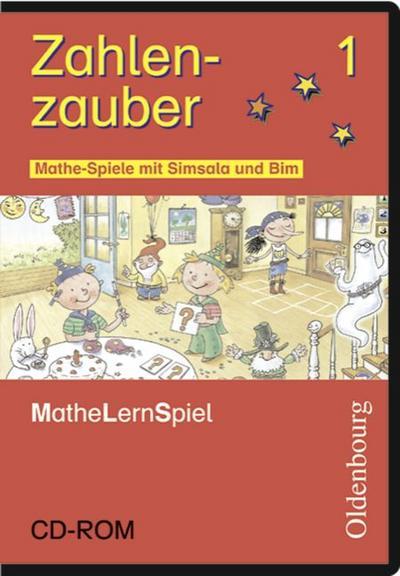 Zahlenzauber 1. Mathespiele mit Simsala und Bim. CD-ROM