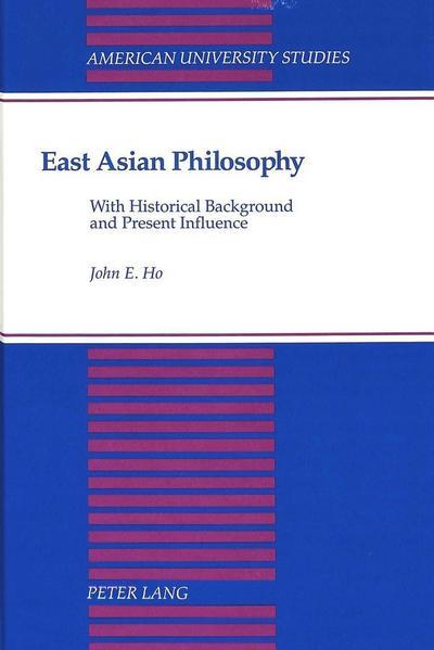 East Asian Philosophy