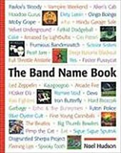 Hudson, N: Band Name Book