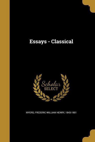 ESSAYS - CLASSICAL
