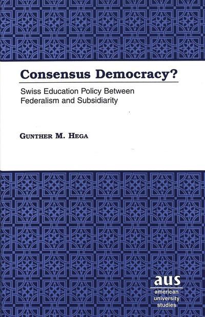 Consensus Democracy?