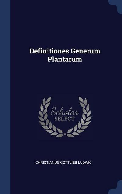 Definitiones Generum Plantarum