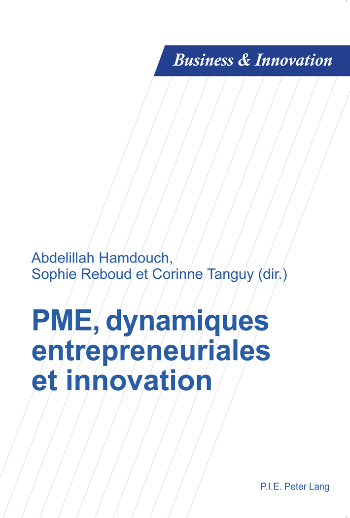 PME, dynamiques entrepreneuriales et innovation Abdelillah Hamdouch