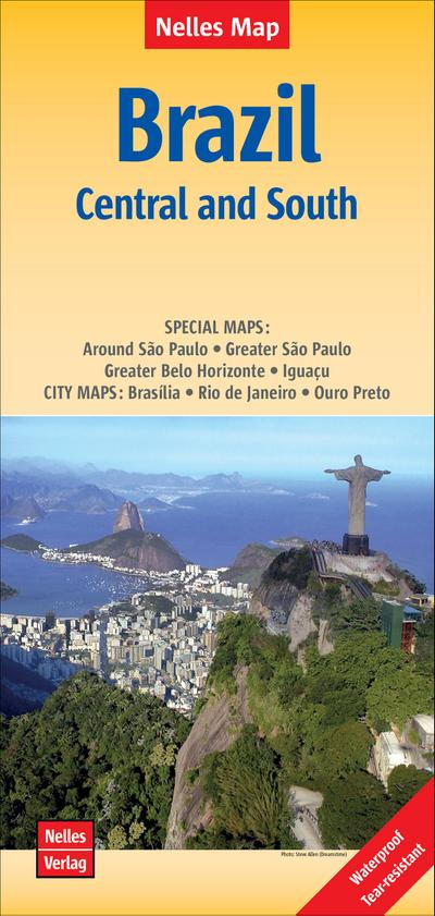 Nelles Map Brazil: Central and South