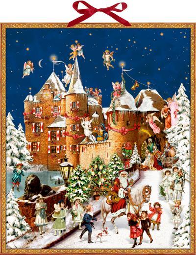 Weihnacht auf der Burg