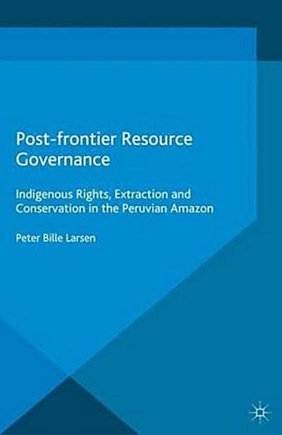 Post-frontier Resource Governance