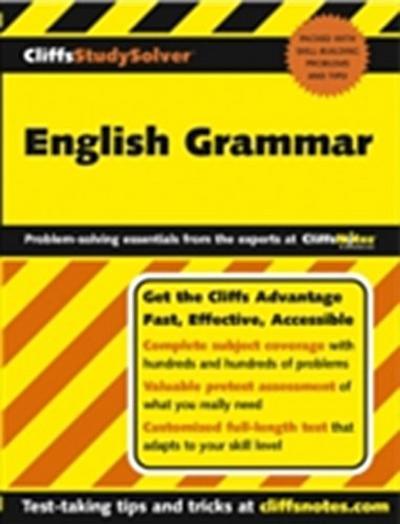 CliffsStudySolver English Grammar