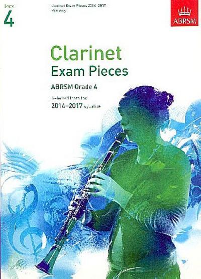 Clarinet Exam Pieces 20142017, Grade 4 Part