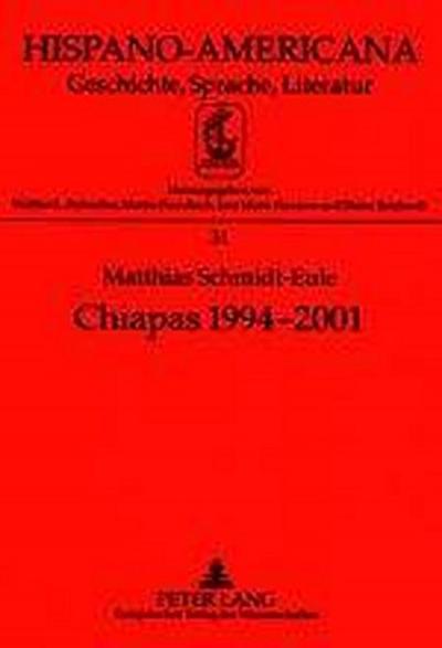 Chiapas 1994-2001