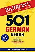 501 German Verbs (Barron's 501 Verbs)