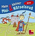 Mein kleiner Mal- & Rätselspaß. Ritter; Malbücher und -blöcke; Ill. v. Schmidt, Sandra; Deutsch; s/w