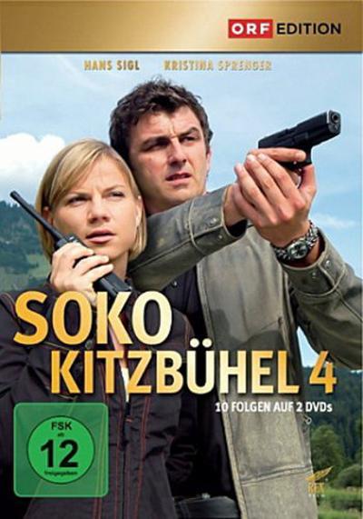 SOKO Kitzbühel. Staffel.4, 2 DVDs