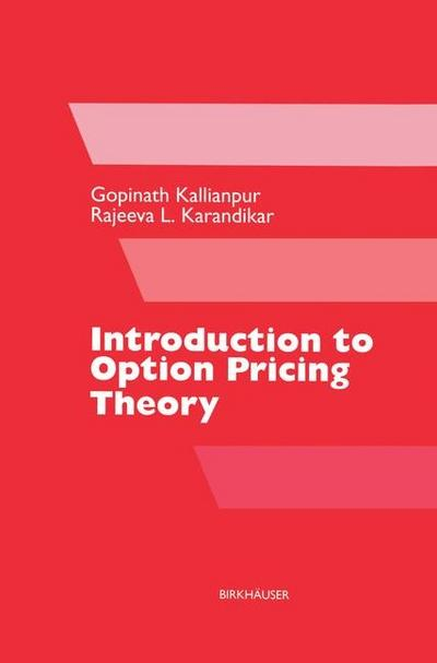 Introduction to Option Pricing Theory