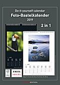 Foto-Bastelkalender 2019 s/w datiert
