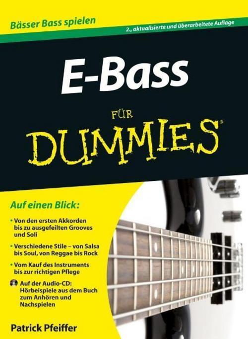 E-Bass für Dummies Patrick Pfeiffer