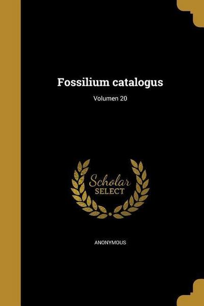 LAT-FOSSILIUM CATALOGUS VOLUME