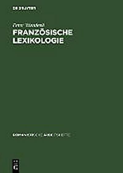 Französische Lexikologie