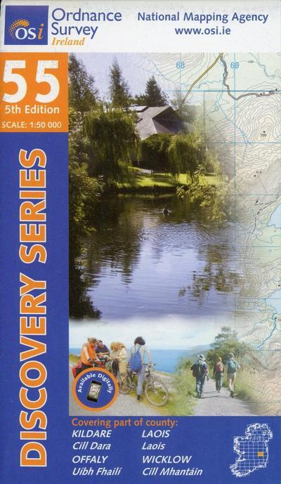 Ordnance Survey Irland Blatt 55 1:50 000