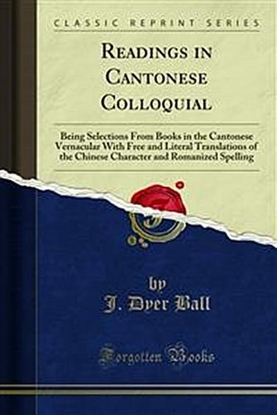 Readings in Cantonese Colloquial