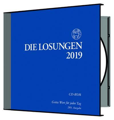 Die Losungen 2019. Deutschland / Losungs-CD - Friedrich Reinhardt - CD-ROM, Deutsch, , Deutschland, Deutschland