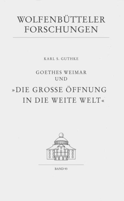 Goethes Weimar und