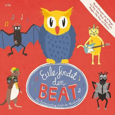 Eule findet den Beat, 2 Audio-CDs