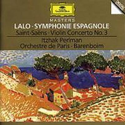 Lalo: Symphony espagnole Op.21 / Saint-Saens: Concerto For Violin And Orchestra No. 3 In B Minor, Op. 61 / Berlioz: Reve